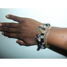 Baltimore Ravens Custom Charm Bracelet