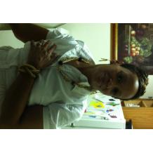 Kiki Wearing Brown Colored Triplicate Set